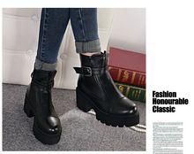 2014 nuevas mujeres botas de tobillo con remache de montar la moda lady de nueva moda 35-39 envío gratis(China (Mainland))