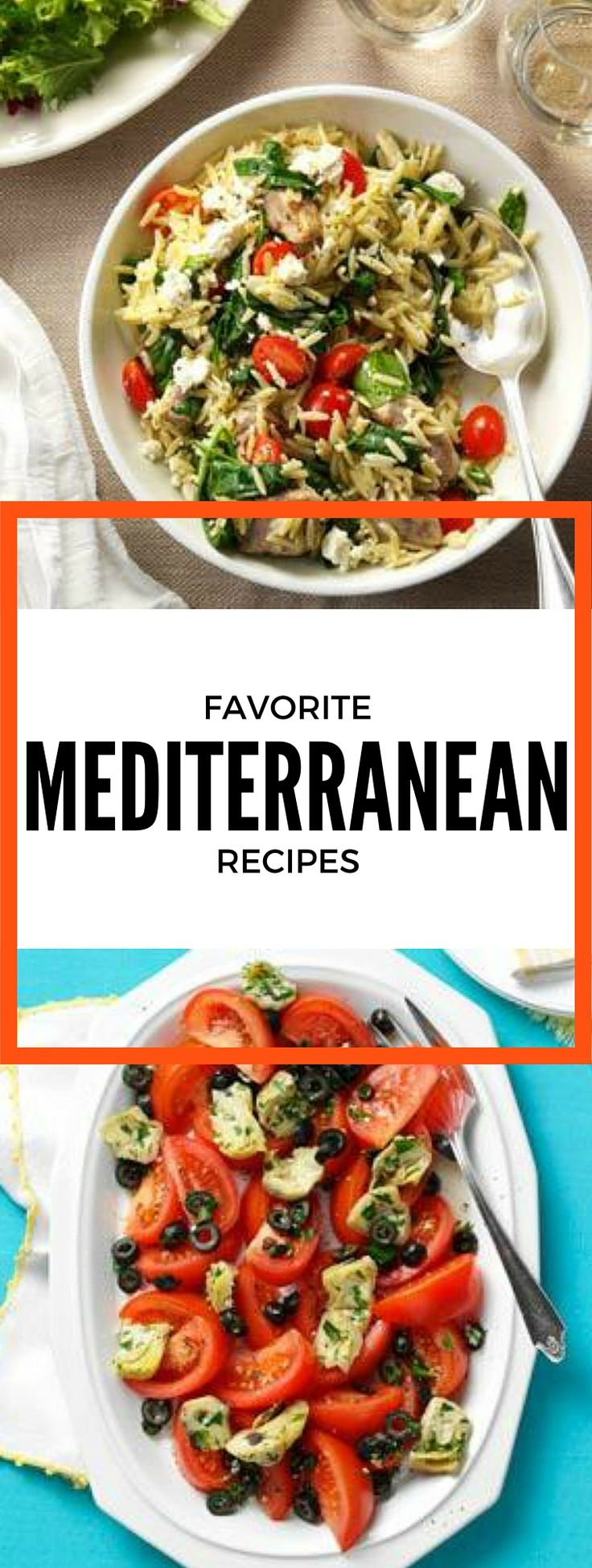 Enjoy a vacation meal without ever leaving your house with these Favorite Mediterranean Recipes from Taste of Home including: Tuscan Chicken, Summer Garden Couscous Salad, Grilled Greek Fish and more!