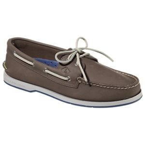 Sperry Captain's Authentic Original 2-Eye Boat Shoes for Men - Gray - 11.5M