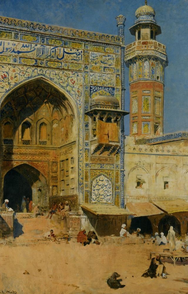 :::: ♤ ✿⊱╮☼ ☾ PINTEREST.COM christiancross ☀❤•♥•*[†] ::::Edwin Lord Weeks, Lahore, India