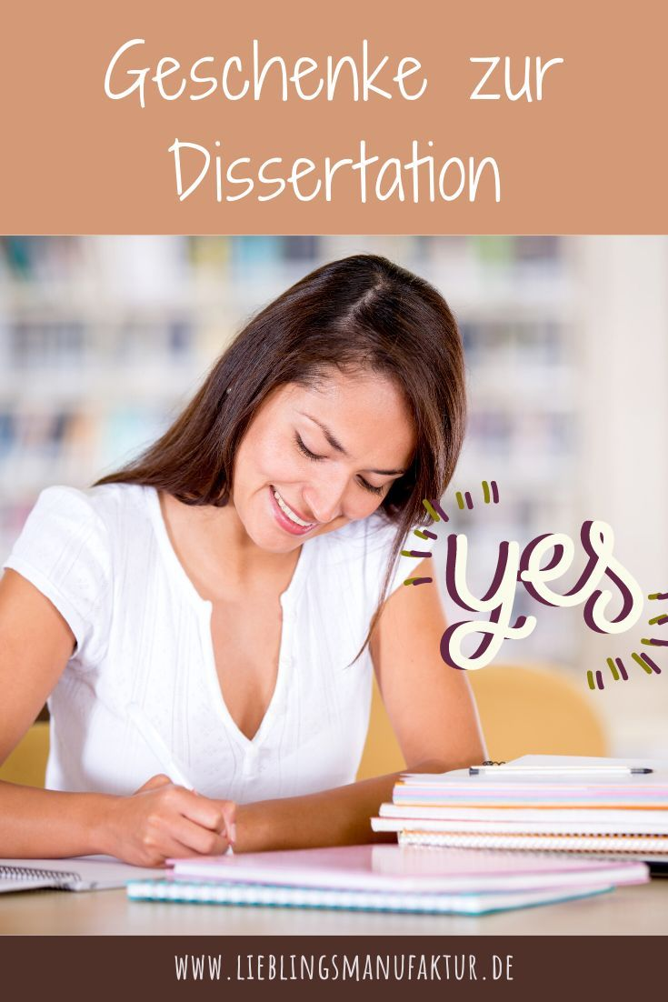 Geschenke Zur Dissertation