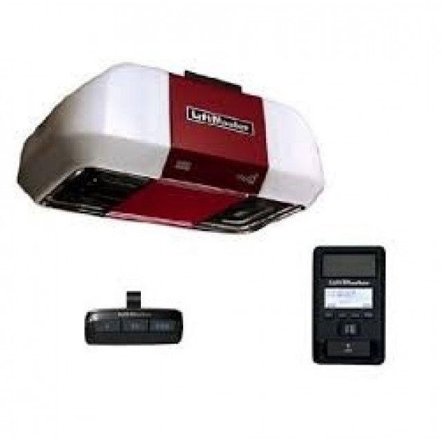 Liftmaster 8550w Dc Backup Capable Belt Drive Wi Fi Garage Opener Liftmaster Garage Door Opener Overhead Garage Door