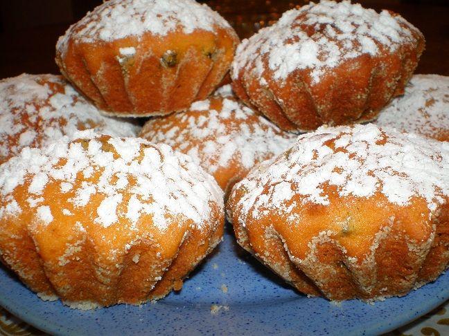 Тыквенные кексы с медом