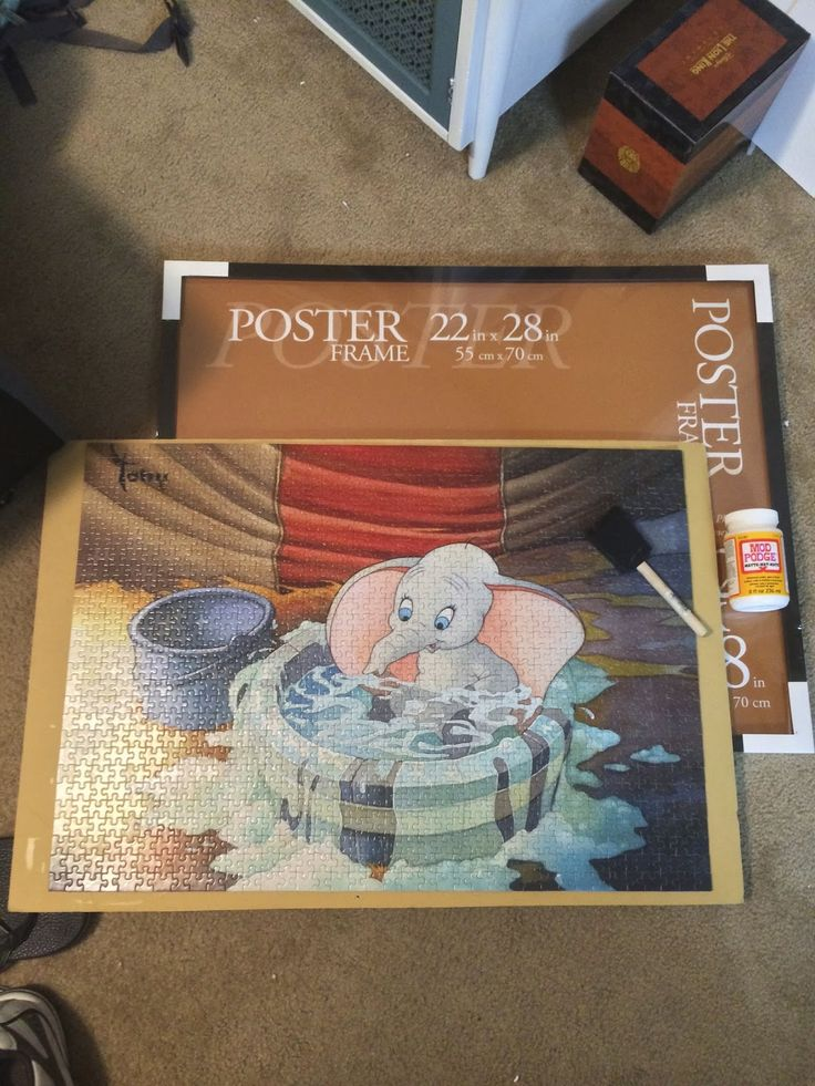 If you are like me, I love making puzzles but I am always sad when I get done and have to take apart the puzzle and put it away in a box. H...