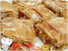 Η ΧΩΡΙΑΤΙΚΗ ΣΑΛΑΤΑ ΕΓΙΝΕ ΠΙΤΑ!!! | Νόστιμες Συνταγές της Γωγώς