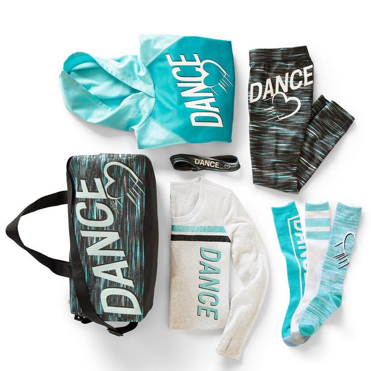 """""""Love dance? Then you'll adore our collection of made-to-match hoodies, performance leggings, graphic tees and accessories!  #JusticeStyle #dancewear"""""""