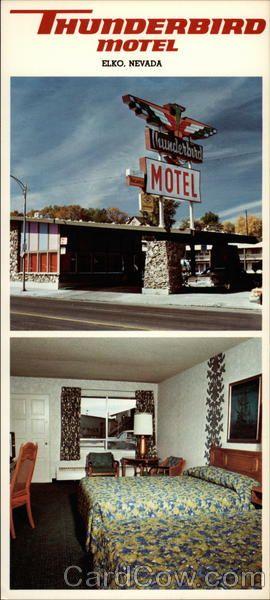 Thunderbird Motel, 345 Idaho Street Elko Nevada