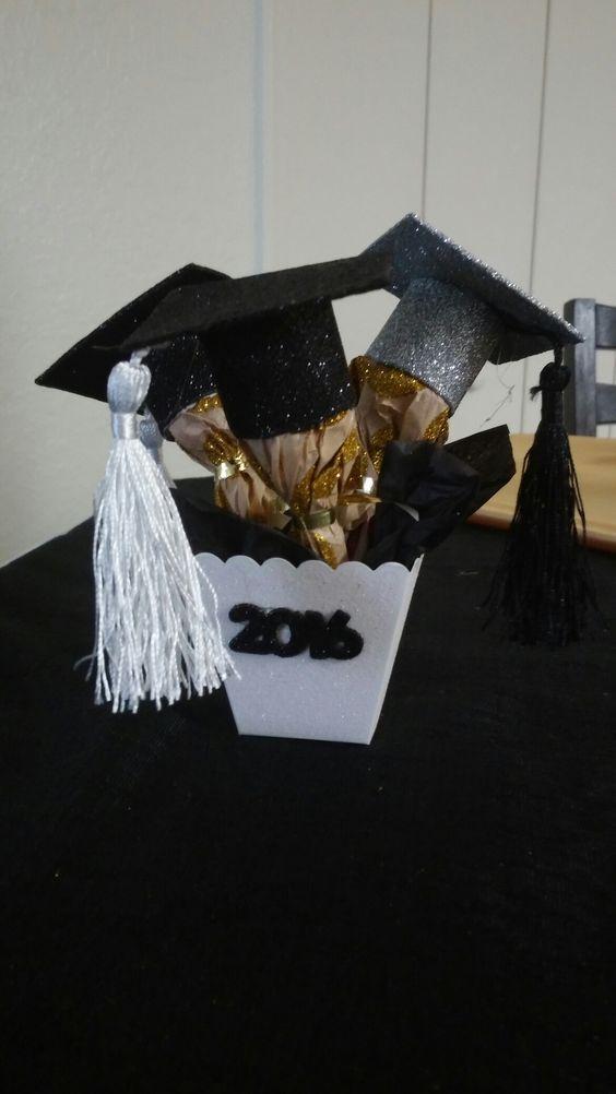 Centros de mesa para graduacion (23) | Curso de Organizacion del hogar
