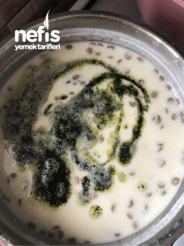 Erişte – Mercimekli Yoğurt Çorbası