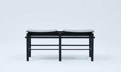 Grid bench - Black