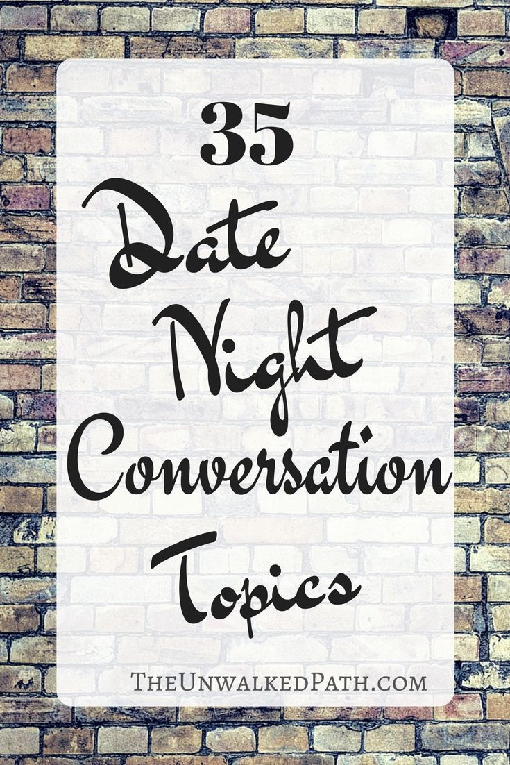 Dating topics to avoid