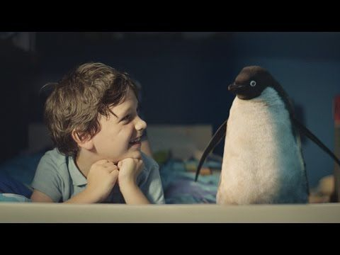John Lewis Christmas Advert 2014 - #MontyThePenguin - YouTube oh my goodness - I LOVE this !!!