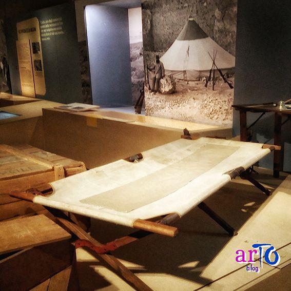 Mostra Missione Egitto 1903-1920. Allestimento del campo #museoegizio #torino