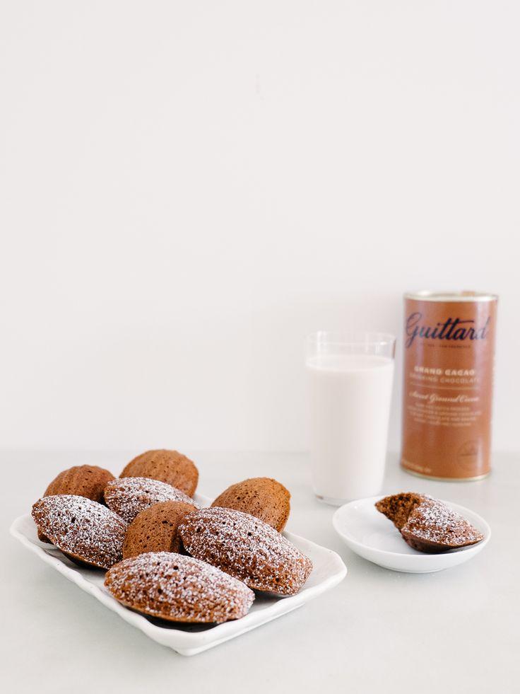 Guittard's Hot Cocoa Madeleines — Fix Feast Flair
