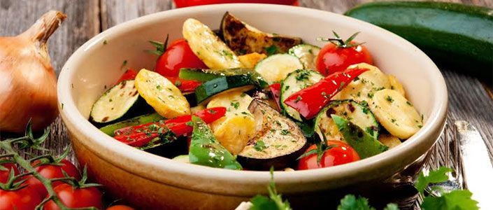 Mediterranean Vegetable Salad - Kitchen Kettle Village