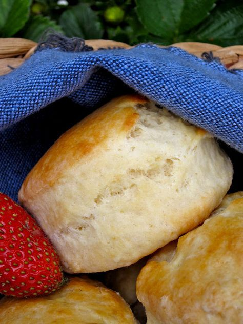 Afternoon Tea Scones These look so light and fluffy!  Pass the clotted cream!