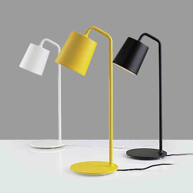 Новые Светодиодные Настольные Лампы красочный Современный Промышленный светильник Loft настольная лампа для чтения Исследование стол освещение ночники Ночь Свет