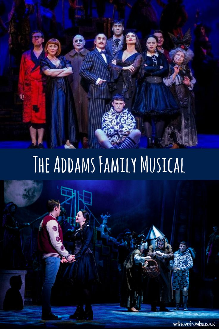 Last night I went to see the very first UK tour of The Addams Family Musical. Click here to see what I thought of it: http://withlovefromlou.co.uk/2017/06/addams-family/