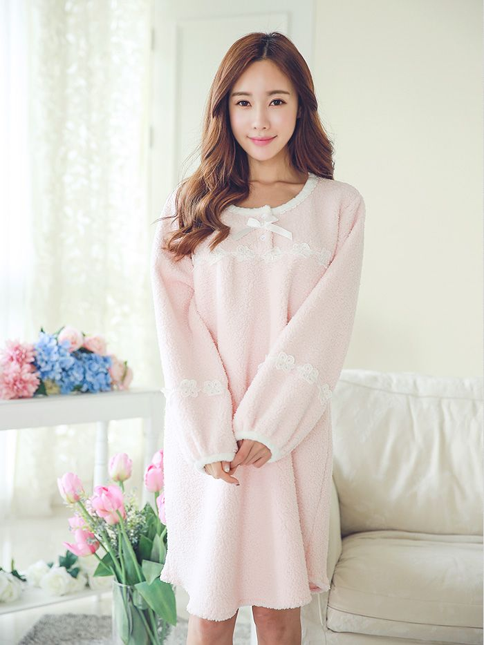 여성_로즈마리 양털원피스(핑크) 15-7901