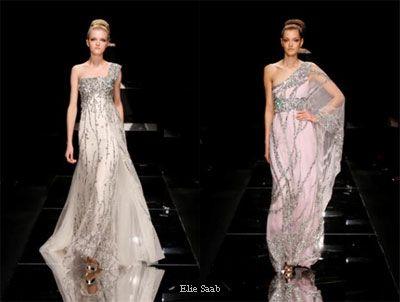 Wedding gown and saree, gaun pengantin dan sari