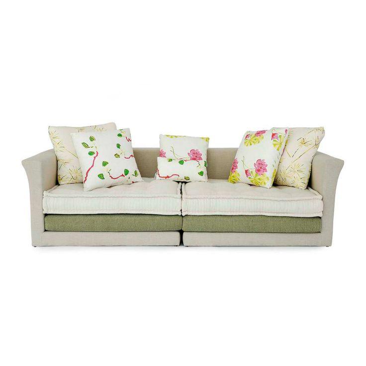 Artisanal handmade Lotus sofa