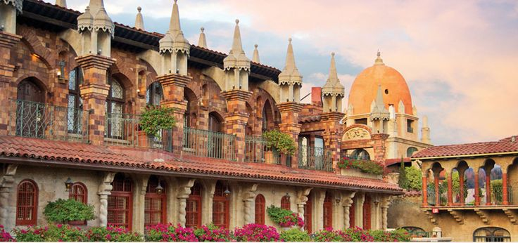 Mission Inn and Spa - a Spanish style hotel in Riverside, CA