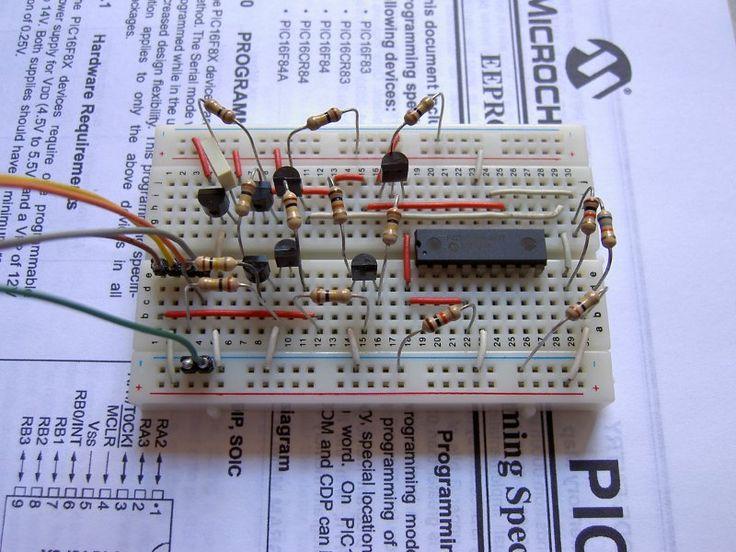 Raspberry Pi PIC Programmer using GPIO