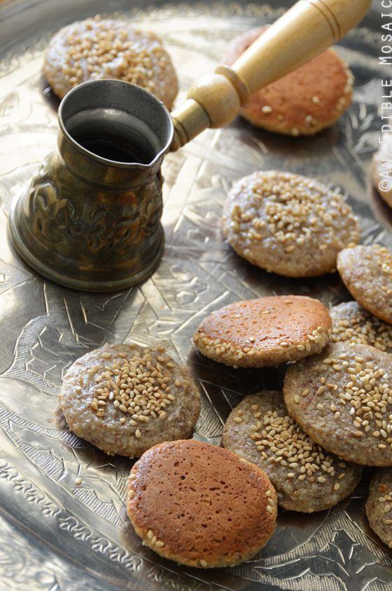Soft and Chewy Tahini, Honey, and Almond Cookies {Paleo}: Tahini ...