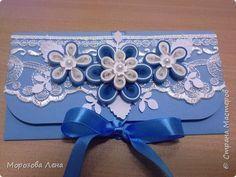Упаковка День рождения Квиллинг открытка конверты Бумага фото 1