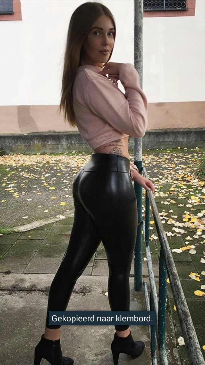 Pin by TV V on HOT | Leather leggings, Fashion, Latest