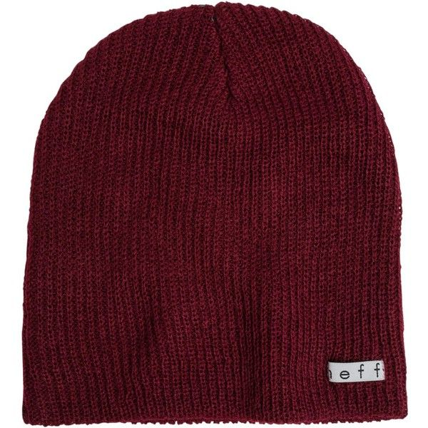 Neff Daily Beanie ($16) ❤ liked on Polyvore featuring accessories, hats, red, neff hats, neff, acrylic beanie, acrylic hat and neff beanie
