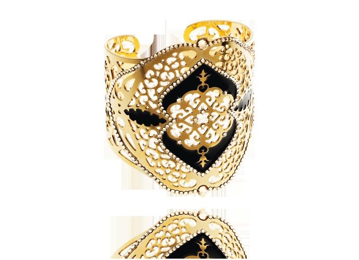 gold arabesque bracelet