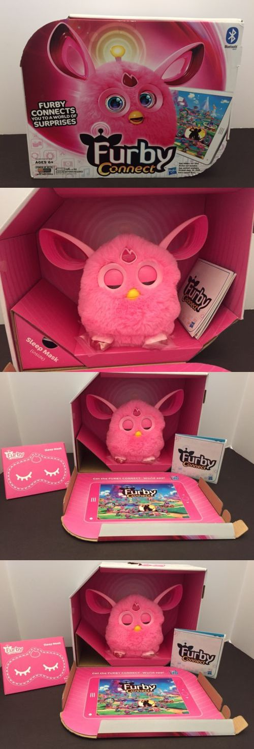 Furby 1083: Furby Connect Pink W Bluetooth New In Box -> BUY IT NOW ONLY: $69.99 on eBay!