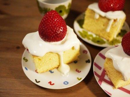 Dr.スランプ マンモスイチゴのショートケーキ