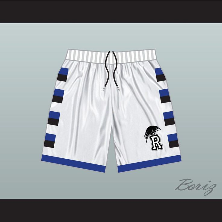 One Tree Hill Ravens White Basketball Shorts. SHIPPING TIME IS ABOUT 3-5 weeksI HAVE ALL SIZES XS-15-18 Inches Waist S-18-21 Inches Waist M-21-24 Inches Waist L- 24-27 Inches Waist XL- 27-30 Inches Waist 2XL-30-33 Inches Waist 3XL-33-36 Inches Waist 4XL-36-39 Inches Waist 5XL- 39-42 Inches Waist   Top to Bottom Measurement in Inches 13 Inches 15 Inches 17 Inches 19 Inches 21 Inches 23 Inches thanks! *** if you need a change tell me paypal notes ***thanks! *** if you need a change tell...