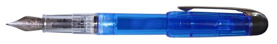 Waterman Phileas Clear Blue Demonstrator Fine Point Fountain Pen
