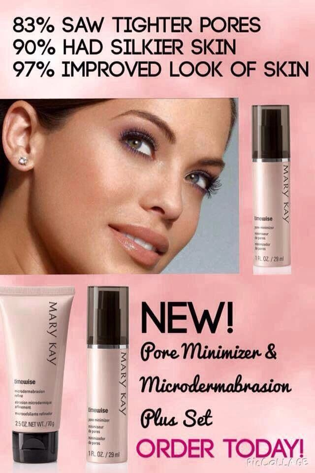 From America's #1 skin care company, Mary Kay, a product that actually minimizes pores! www.marykay.com/acanny