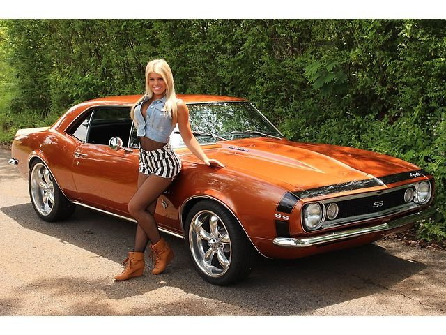 102 Best Hot Babes Muscle Cars Images On Pinterest Car