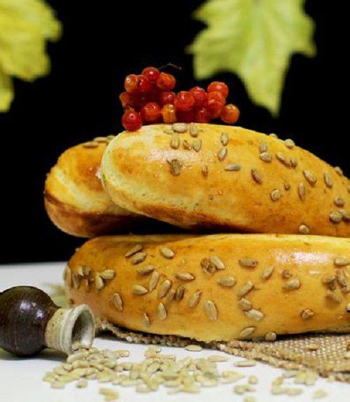 Как испечь белый хлеб с семенами подсолнечника