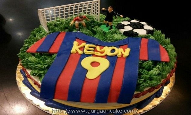 Lionel Messi Birthday Cake