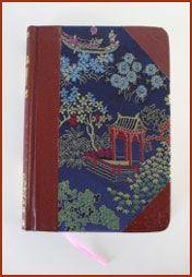 Chinees dagboekje, dat was helemaal hip in de jaren 70! En die had (en heb) ik dus ook in het groen....