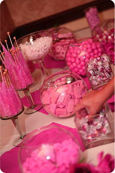 Pink Candy / Dessert Tables