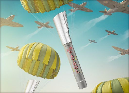 Benefit Cosmetics - air patrol #benefituk