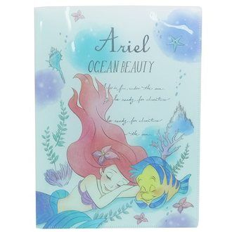 Pop preparations miscellaneous goods stationery teens miscellaneous goods mail order marshmallow in 2017SS Little Mermaid Ariel file Disney Princess Crux new school term