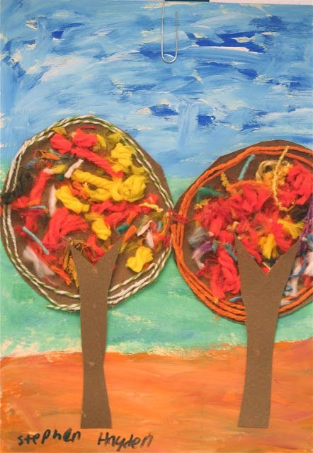 Fall Texture Trees