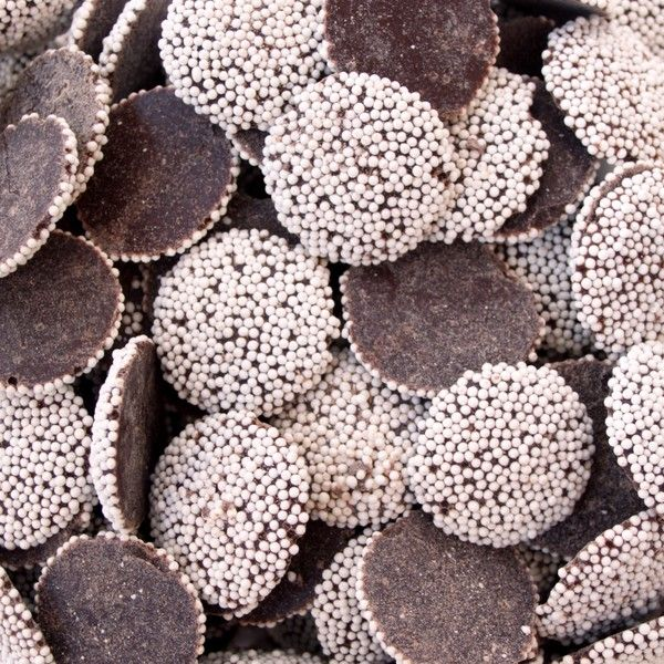 I've been a fan of non pareils candies since who knows when... as long as I can remember. Such an enjoyable treat that instantaneously transports me to my childhood.
