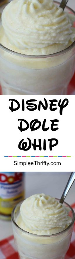 Get this delicious Copycat Disney Dole Pineapple Whip right at home! You don't have to spend thousands to get a Disney favorite now!