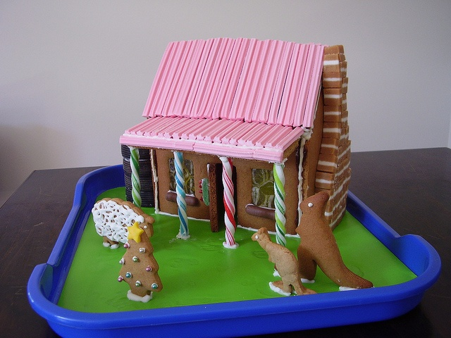 Yet another aussie themed gingerbread house!