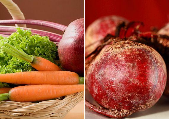A cékla és a sárgarépa egyaránt hatékonyan támogatják a máj egészséges működését, és segítik tisztulását. A sárgarépa elsősorban vértisztító hatású, míg a cékla a zsírbontásban támogatja a májat. E két zöldség a legolcsóbb májtisztító és májerősítő.