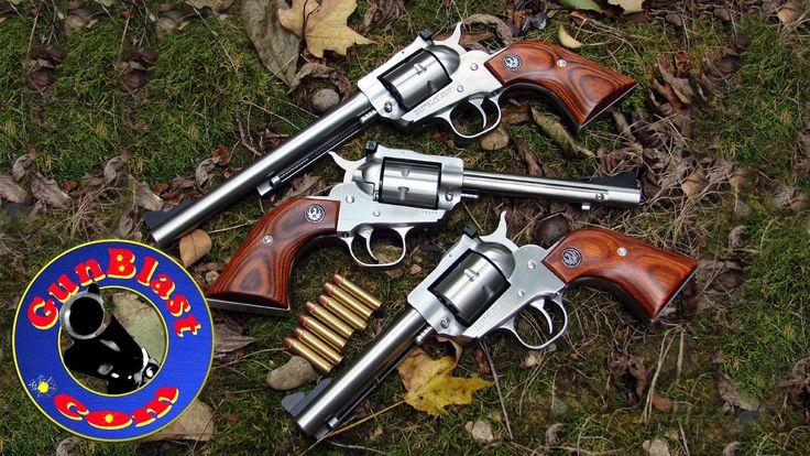 FOR MORE INFO: http://www.gunblast.com/Ruger-Single7.htm Jeff Quinn ( http://www.gunblast.com ) tests the Ruger Single-Seven 327 Federal Magnum Single-Action...